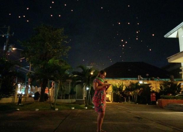 glau gasparetto pare de sonhar ana sasso projeto tailandia yi peng festival chiang mai